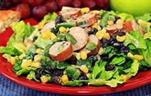 Recipe for Southwestern Sausage Salad