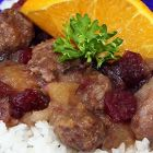 Slow-Cooker Bratwurst and Autumn Fruit