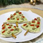 Pita Bread Christmas Trees