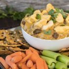 Wisconsin Brat and Beer Cheese Dip