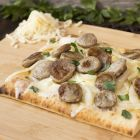 Brat and Caramelized Onion Flatbread